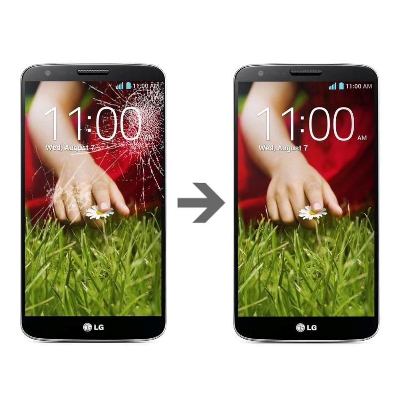 Wymiana szybki w LG G2
