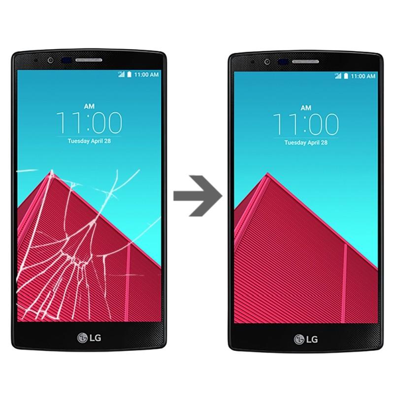 Wymiana szybki w LG G4