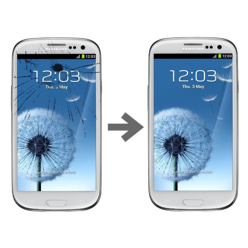 Wymiana szybki dotyku w Samsung Galaxy S3