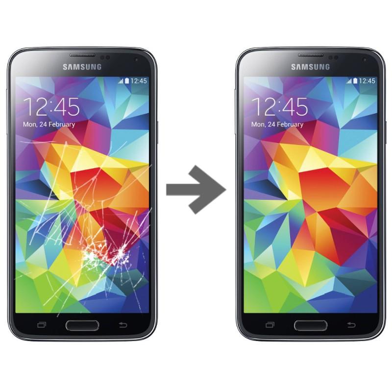 Wymiana szybki dotyku w Samsung Galaxy S5
