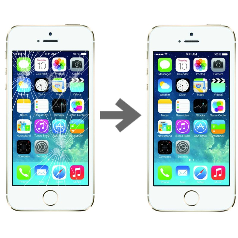 Wymiana szybki dotyku w Apple iPhone 5S