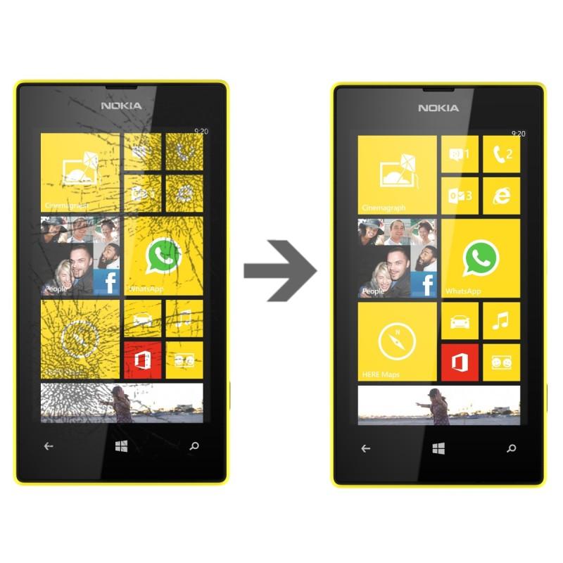 Wymiana szybki w Nokia Lumia 520