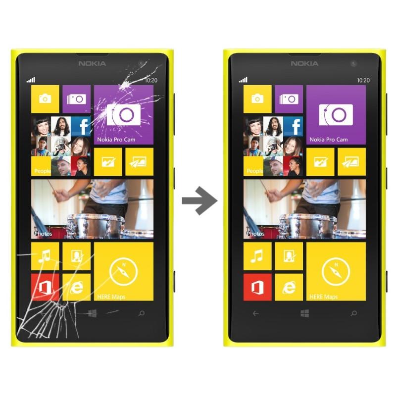 Wymiana szybki dotyku w Nokia Lumia 1020