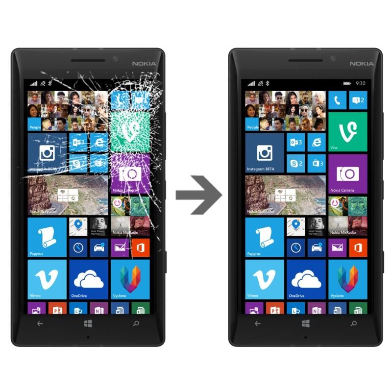 Wymiana szybki w Nokia Lumia 930