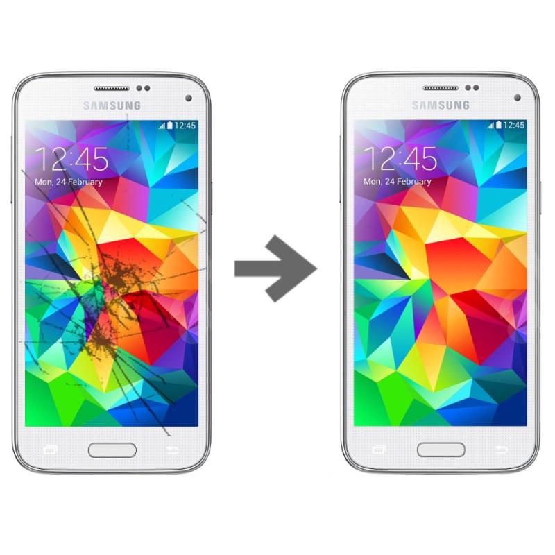 Wymiana szybki dotyku w Samsung Galaxy S5 mini