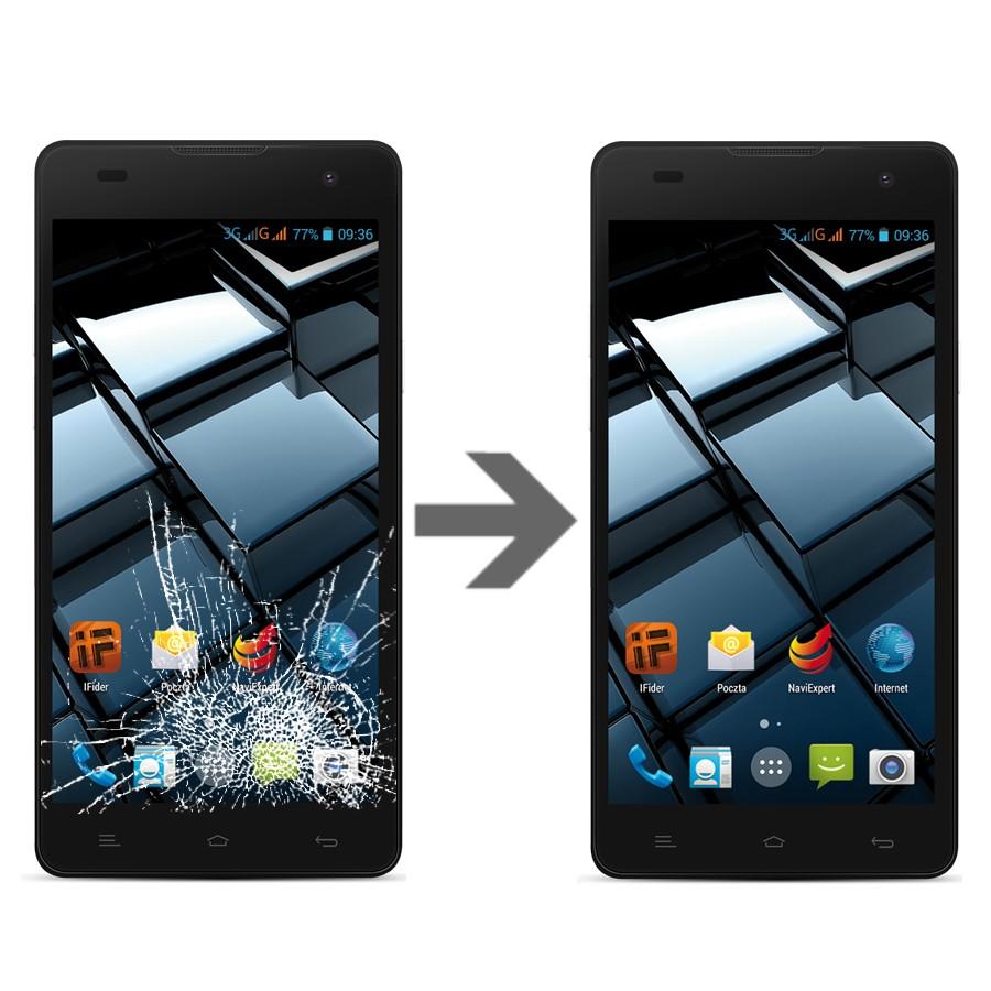 Wymiana szybki w myPhone Cube