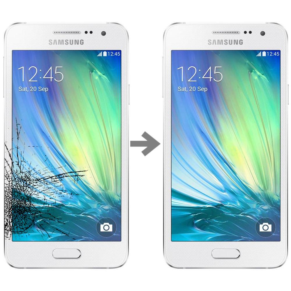 Wymiana szybki w Samsung Galaxy A3 (SM-A300)