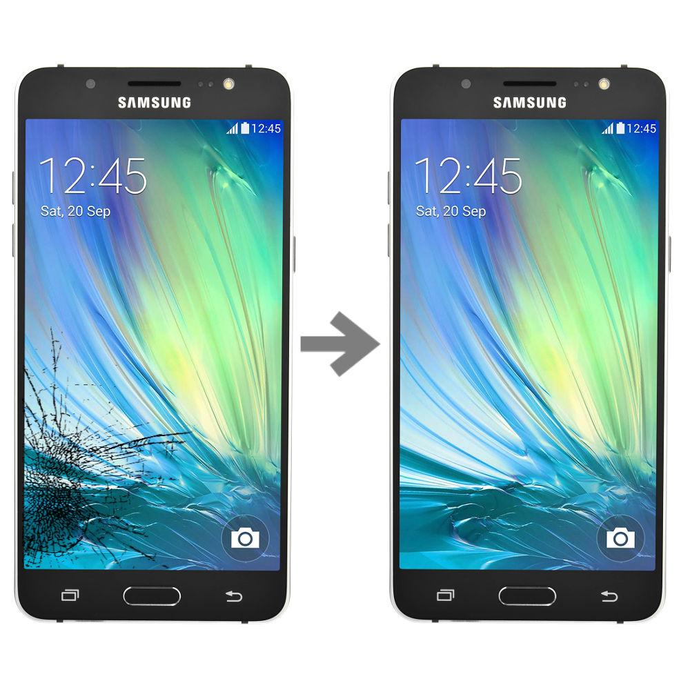 Wymiana szybki w Samsung Galaxy J5 2016 (SM-J510)