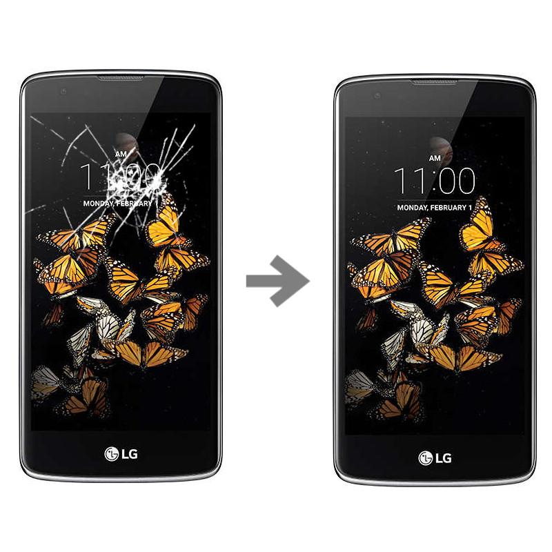Wymiana szybki dotyku w LG K8 (K350N)