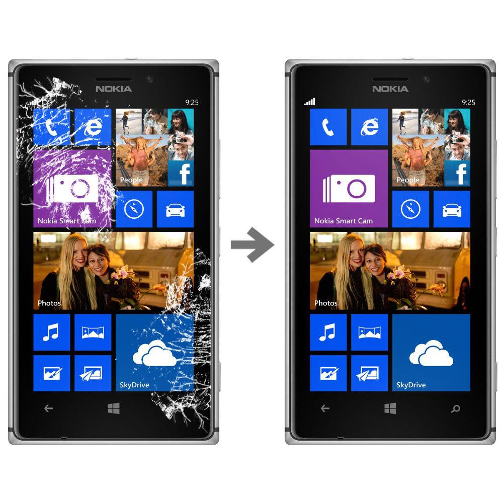 Wymiana szybki dotyku w Nokia Lumia 925