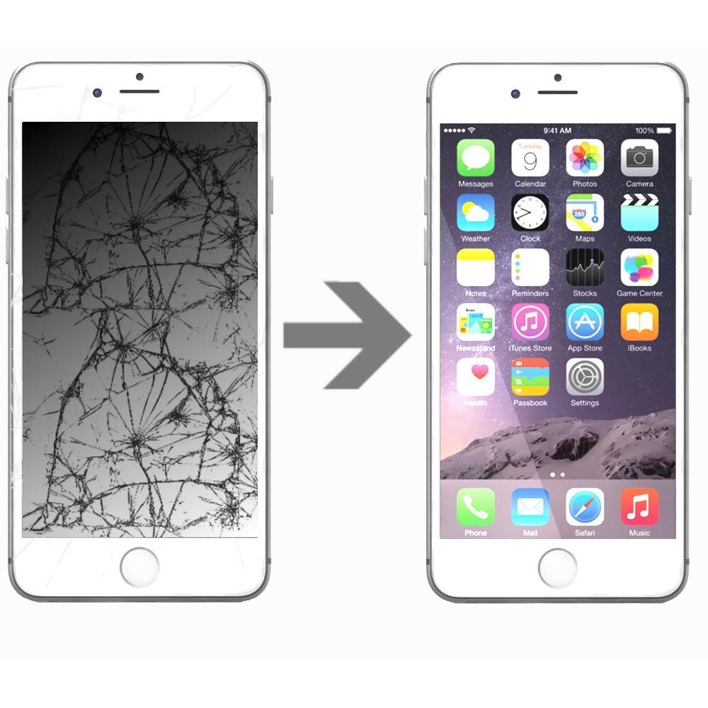 Wymiana wyświetlacza w Apple iPhone 7 Plus