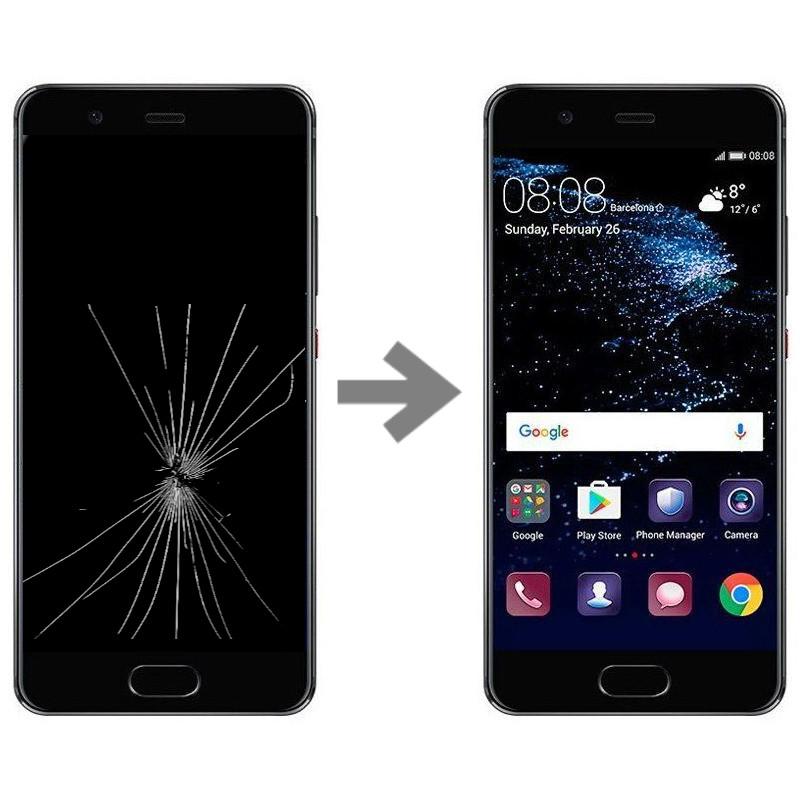 Wymiana wyświetlacza w Huawei P10
