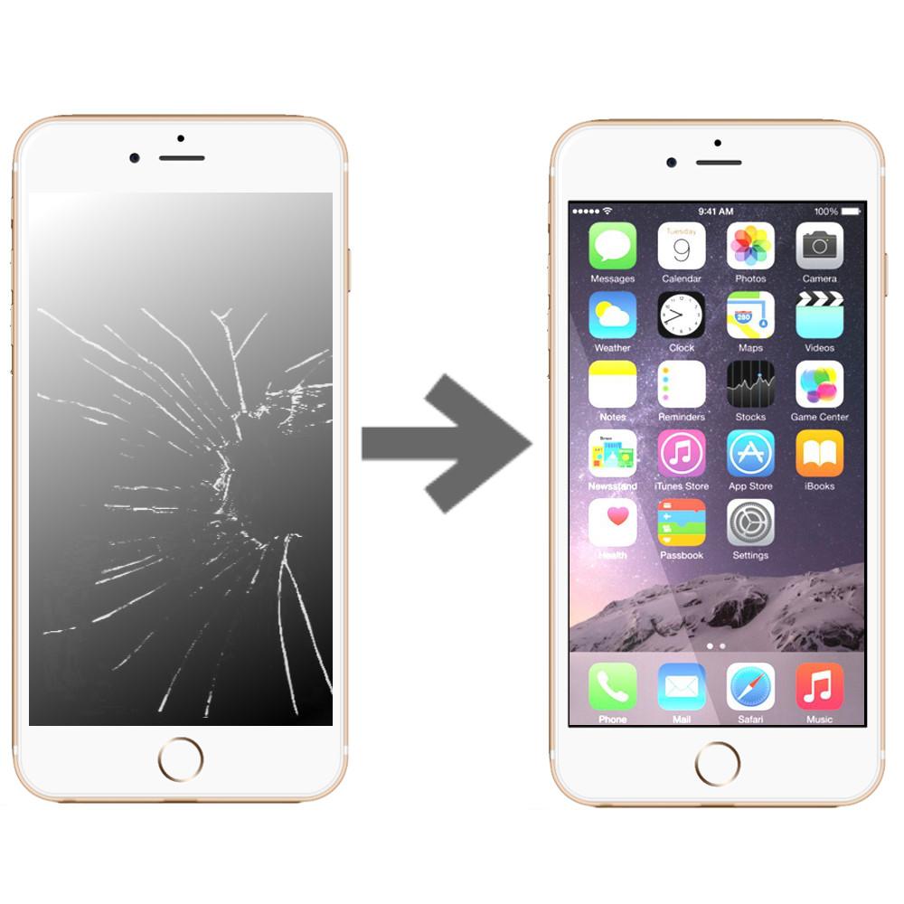Wymiana wyświetlacza w Apple iPhone 7