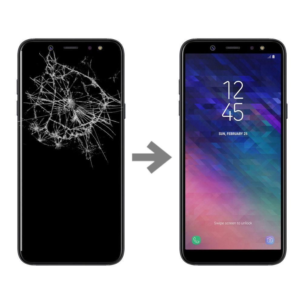 Wymiana wyświetlacza w Samsung Galaxy A6+ Plus 2018 (SM-A605)