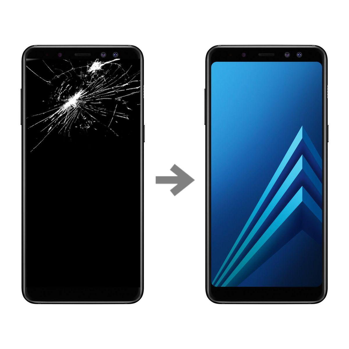 Wymiana wyświetlacza w Samsung Galaxy A8 2018 (SM-A530)