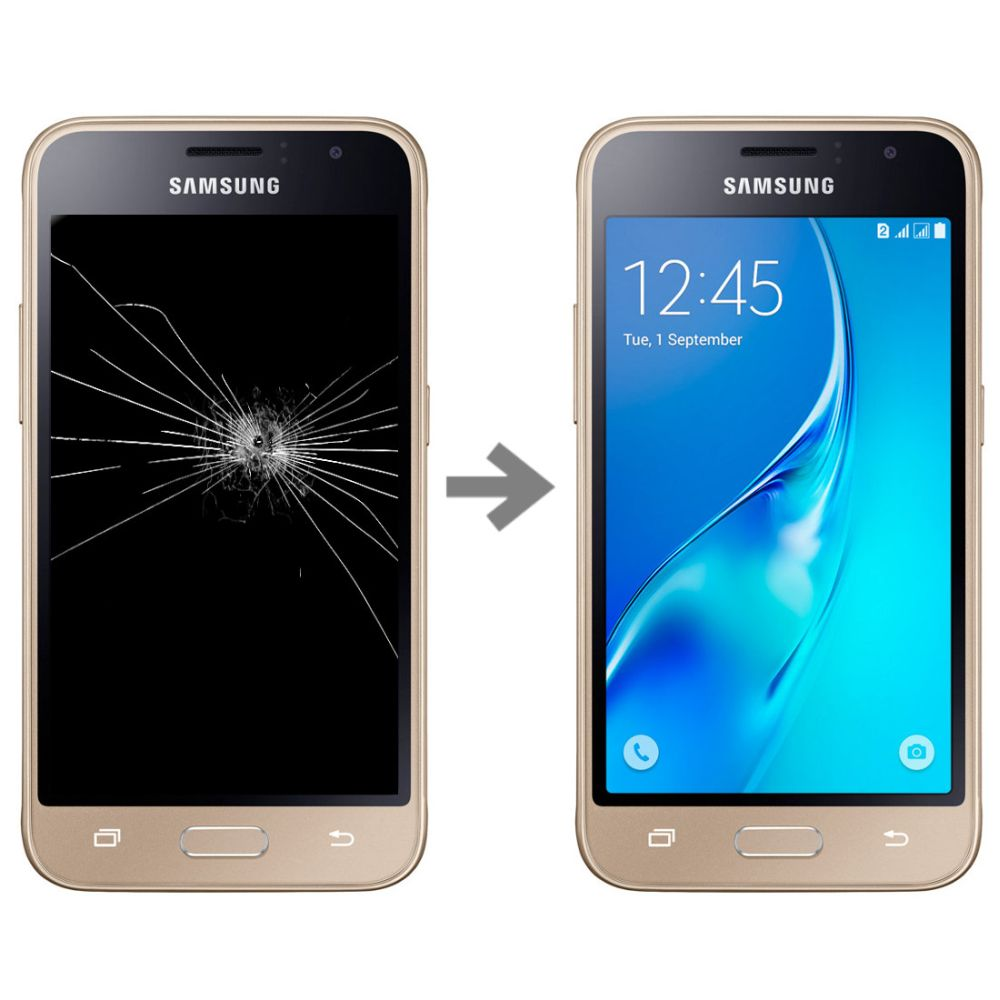 Wymiana wyświetlacza w Samsung Galaxy J1 2016 (SM-J120)