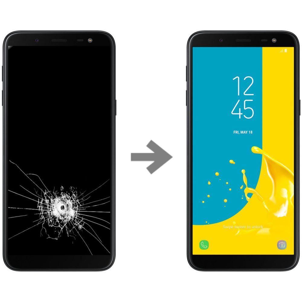 Wymiana wyświetlacza w Samsung Galaxy J6 2018 (SM-J600)