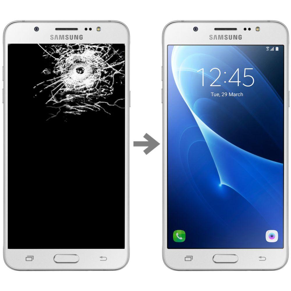 Wymiana wyświetlacza w Samsung Galaxy J7 2016 (SM-J710)