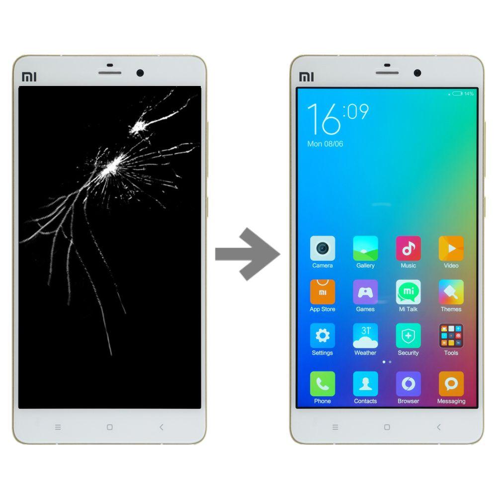 Wymiana wyświetlacza w Xiaomi Mi Note