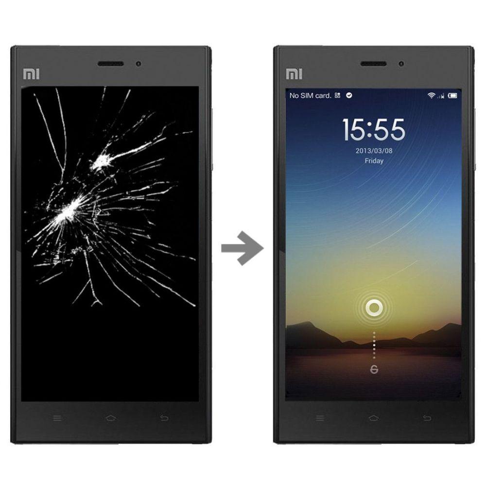 Wymiana wyświetlacza w Xiaomi Mi3