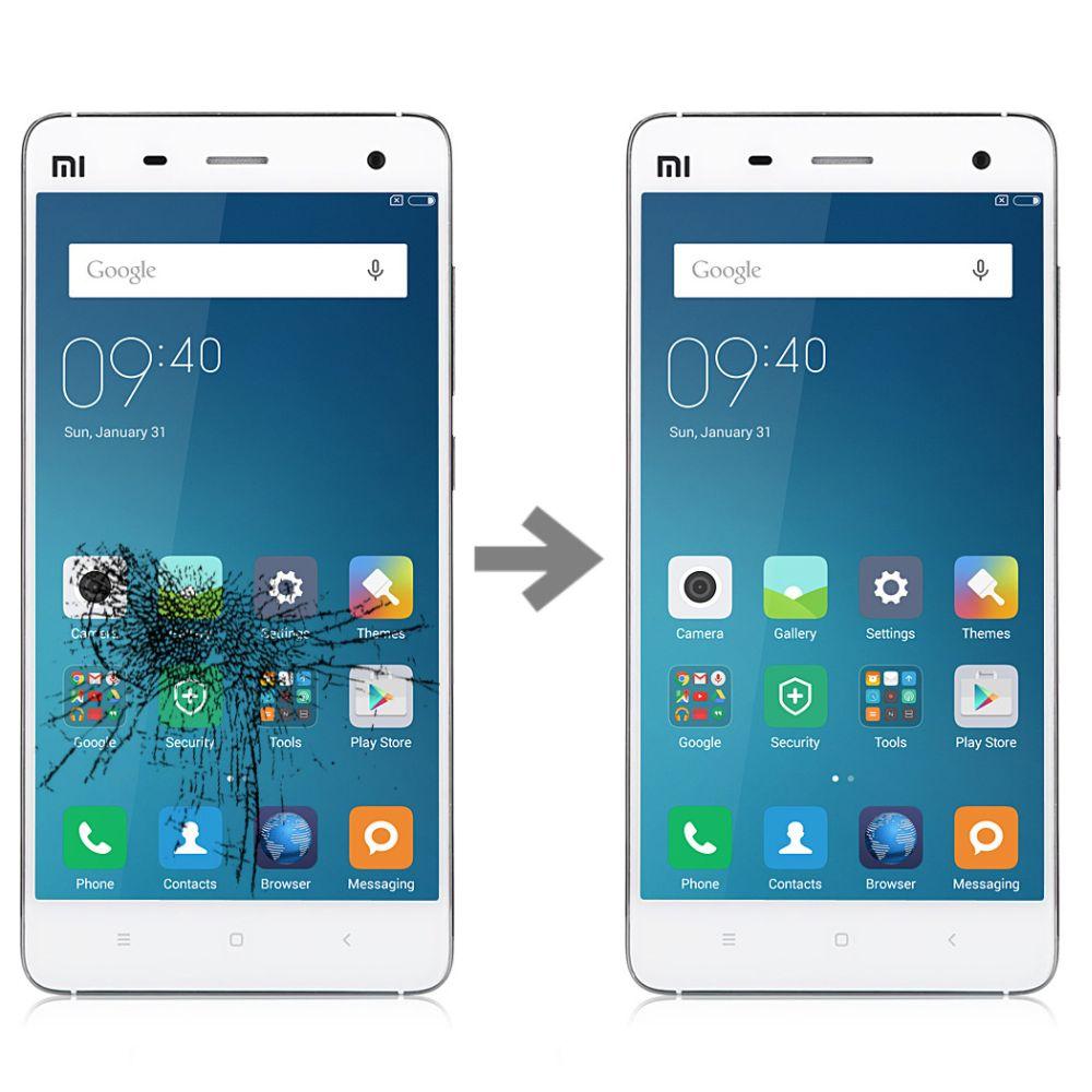 Wymiana szybki w Xiaomi Mi4