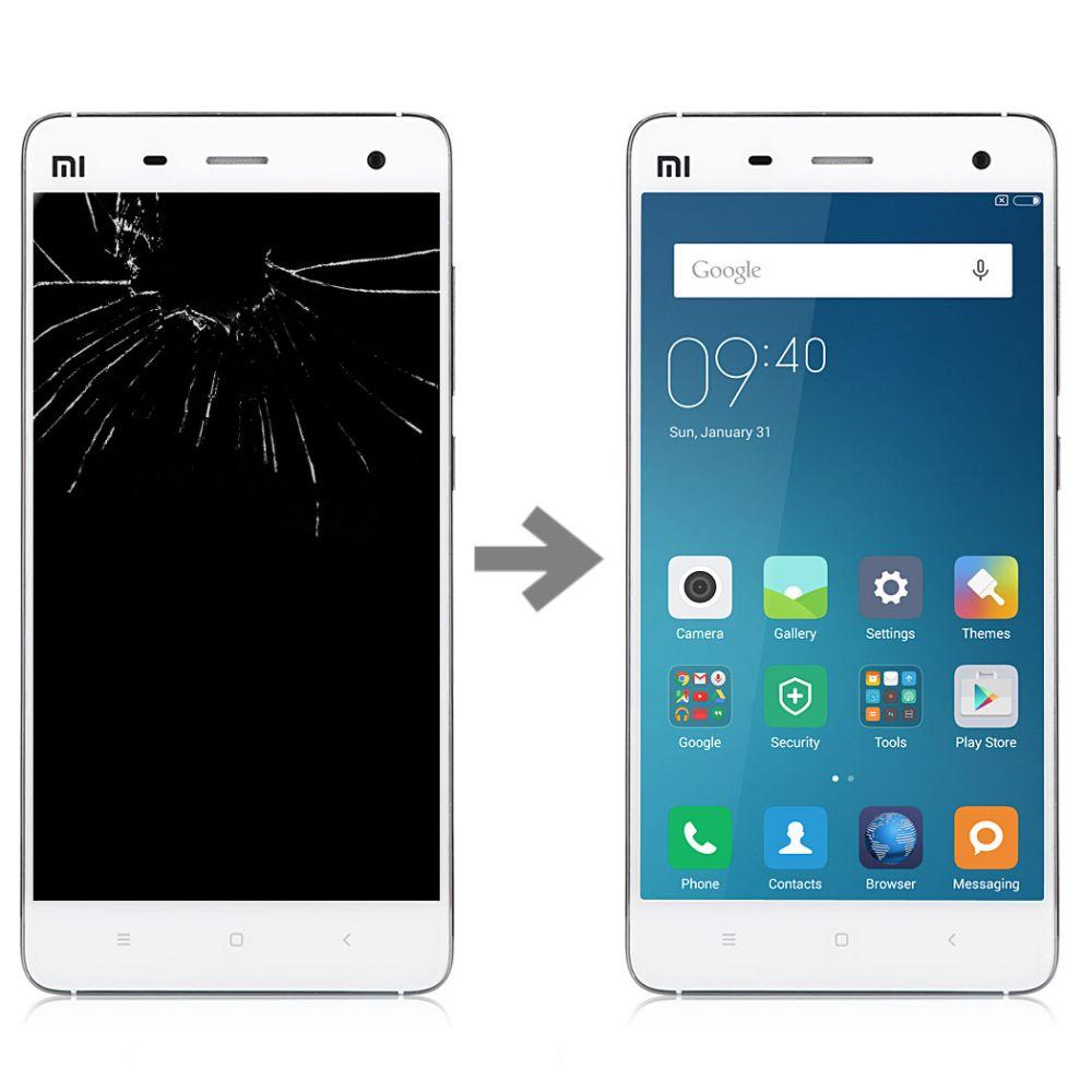 Wymiana wyświetlacza w Xiaomi Mi4