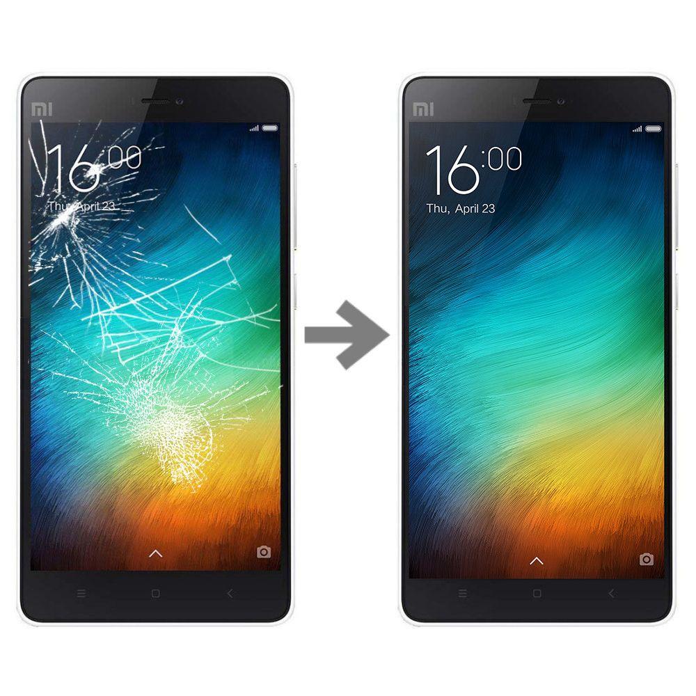 Wymiana szybki w Xiaomi Mi4i