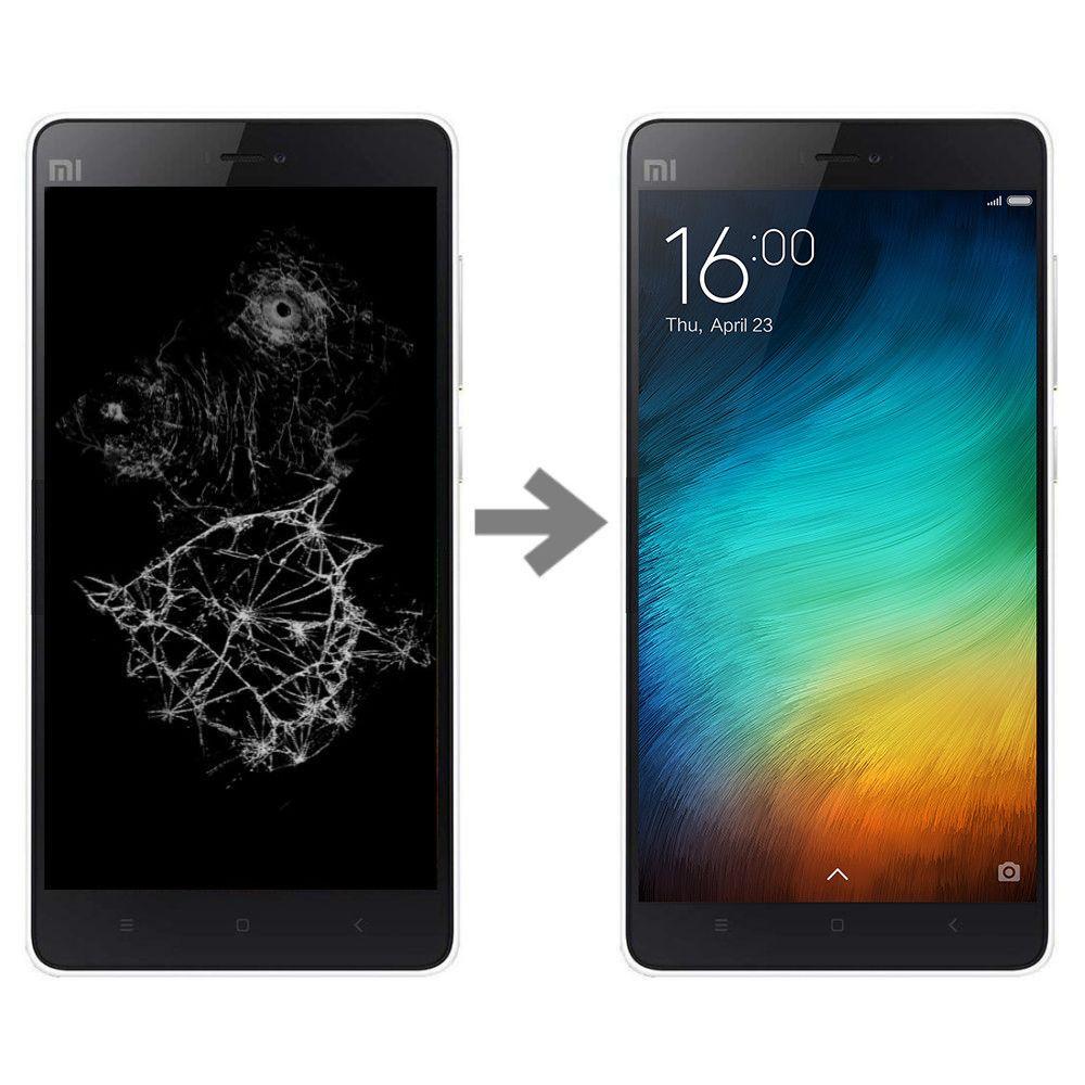 Wymiana wyświetlacza w Xiaomi Mi4i