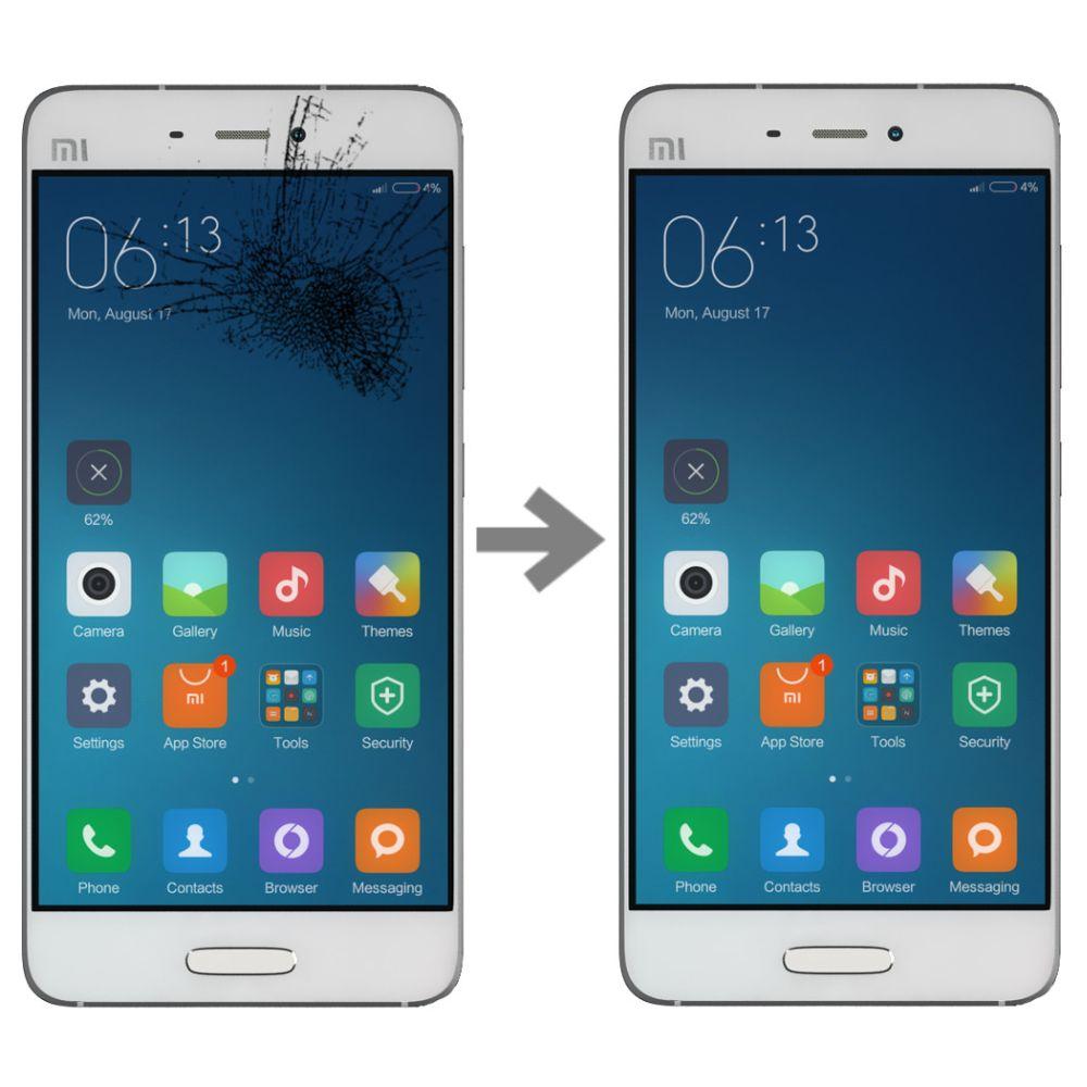 Wymiana szybki w Xiaomi Mi5