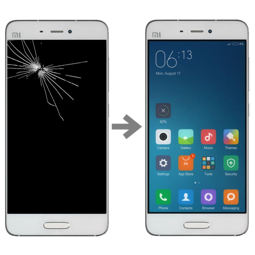 Wymiana wyświetlacza w Xiaomi Mi5