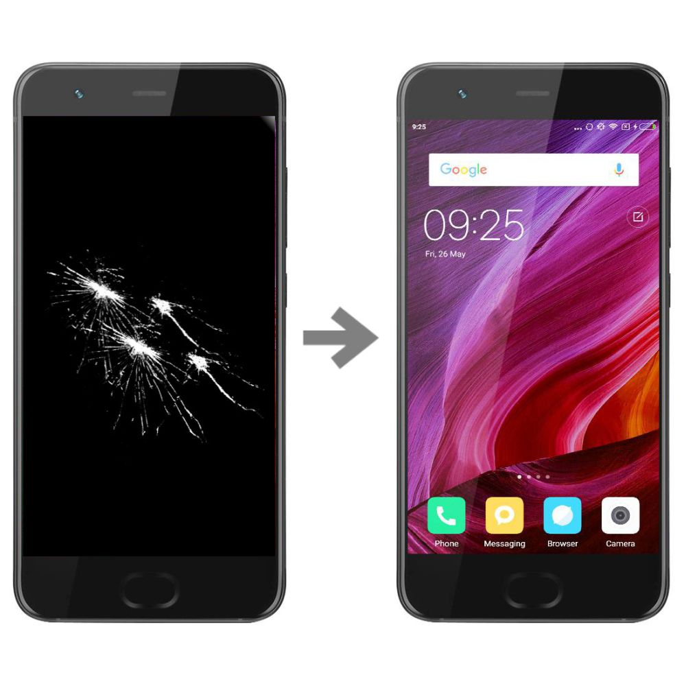 Wymiana wyświetlacza w Xiaomi Mi6
