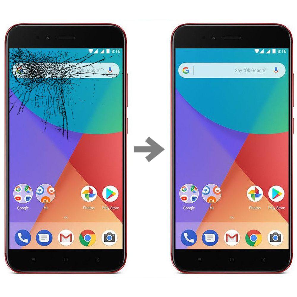 Wymiana szybki w Xiaomi Mi A1