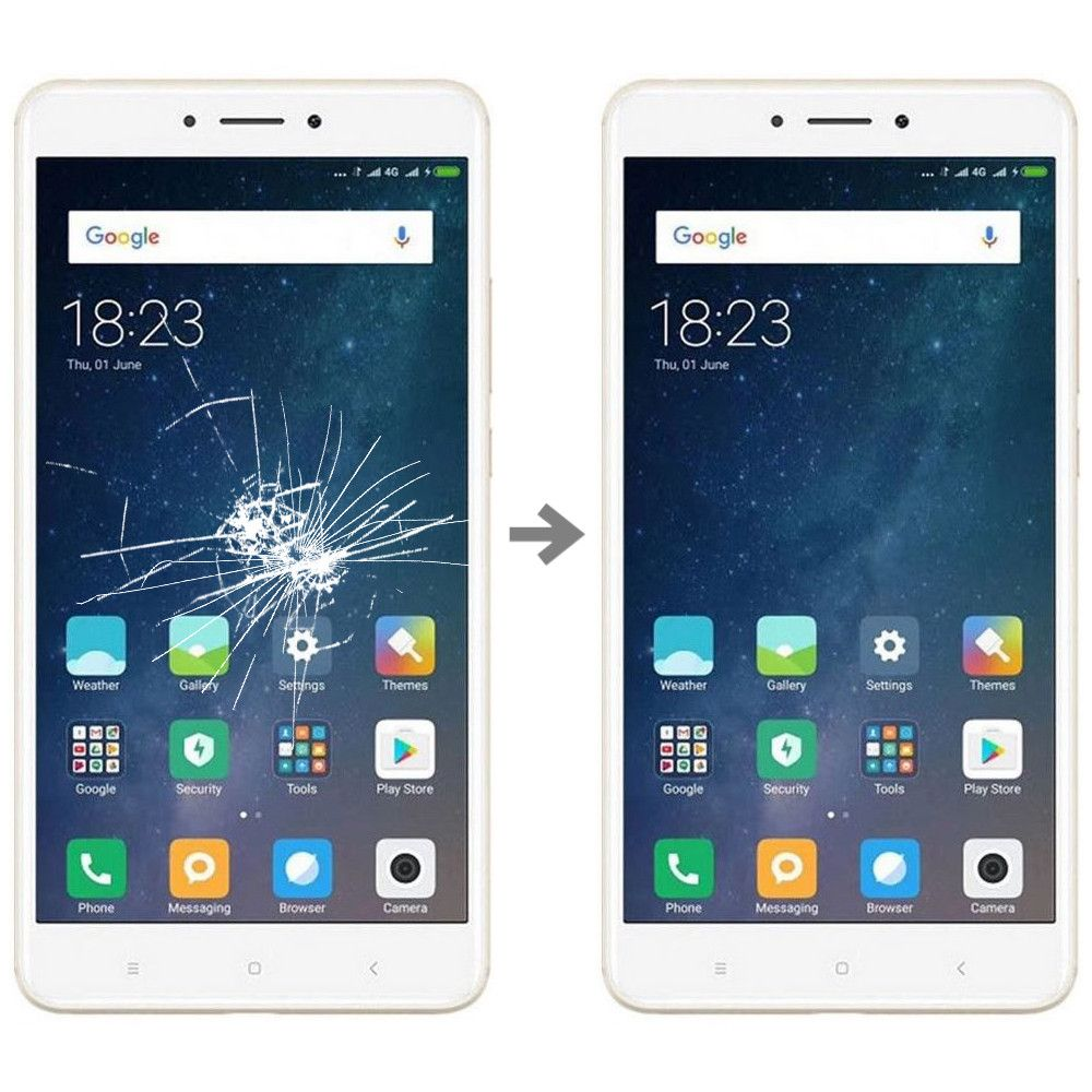 Wymiana szybki w Xiaomi Mi Max