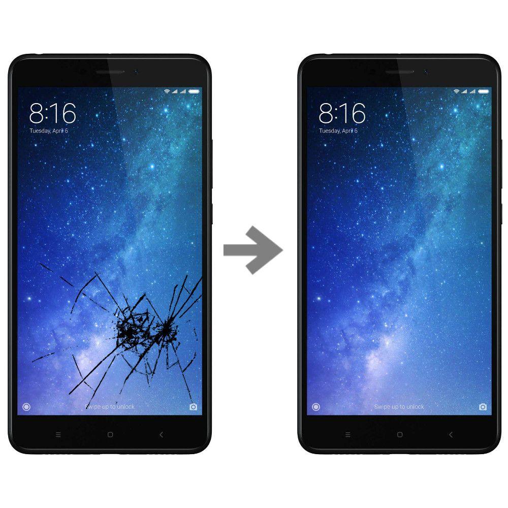 Wymiana szybki w Xiaomi Mi Max 2