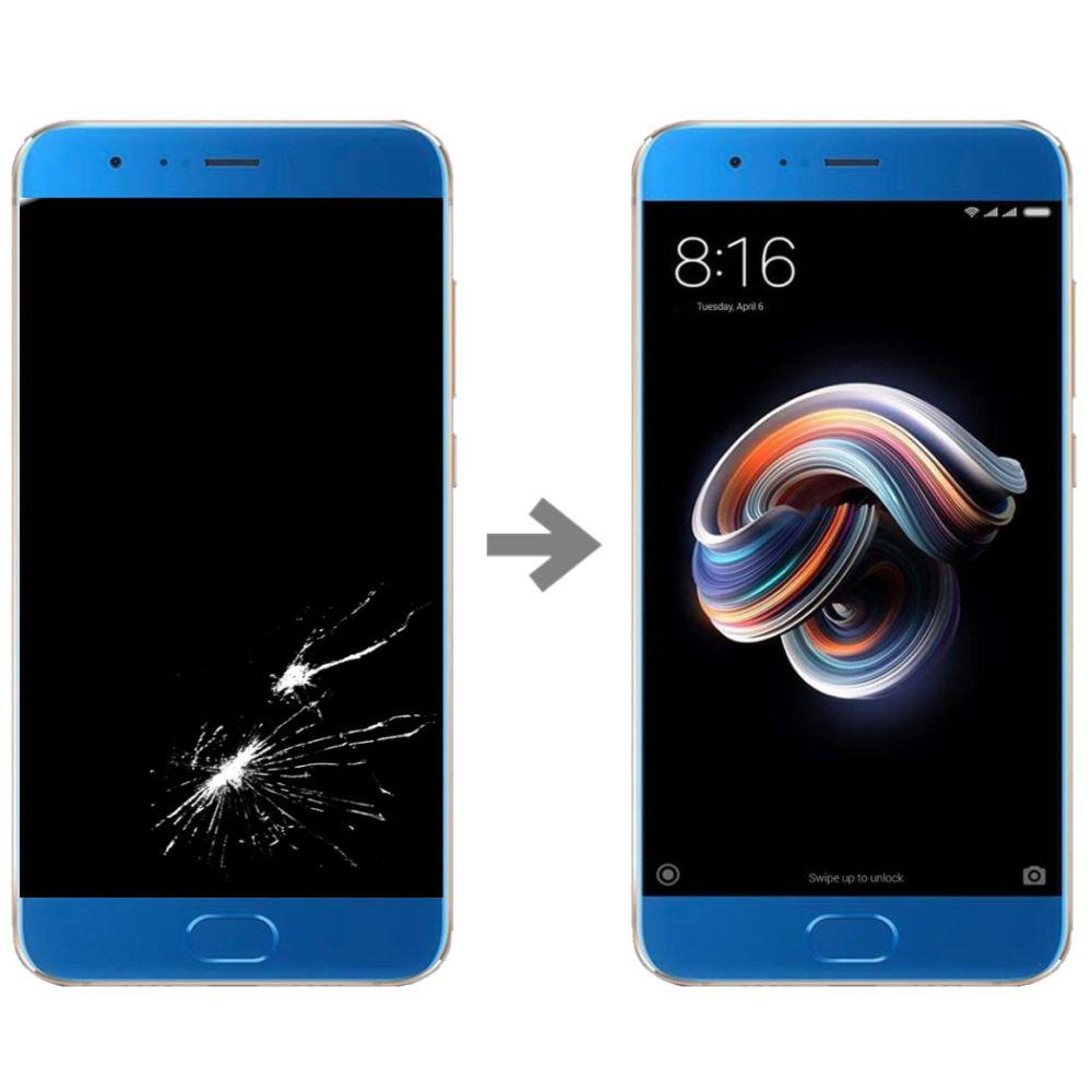 Wymiana wyświetlacza w Xiaomi Mi Note 3