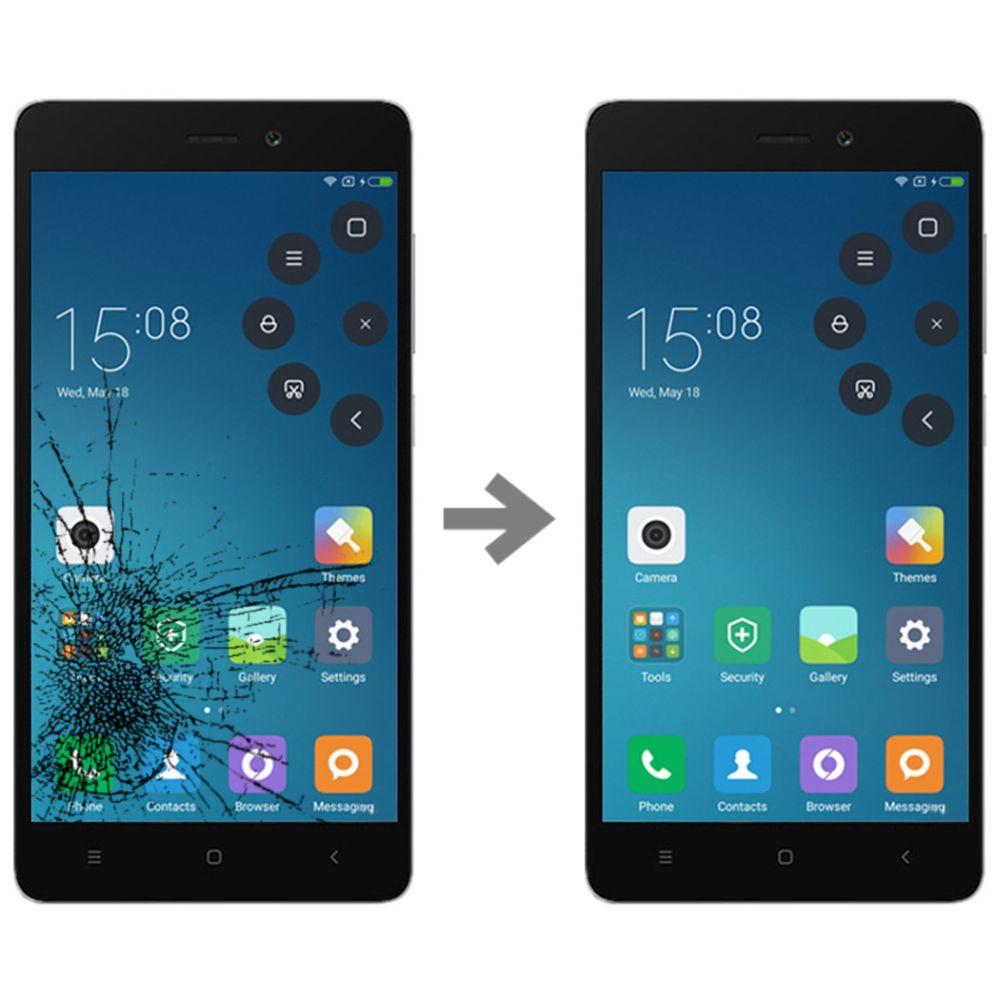 Wymiana szybki w Xiaomi Redmi 3x