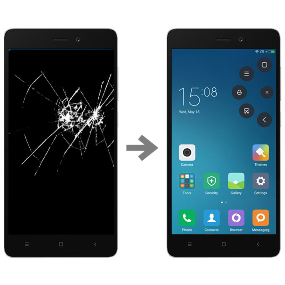 Wymiana wyświetlacza w Xiaomi Redmi 3x