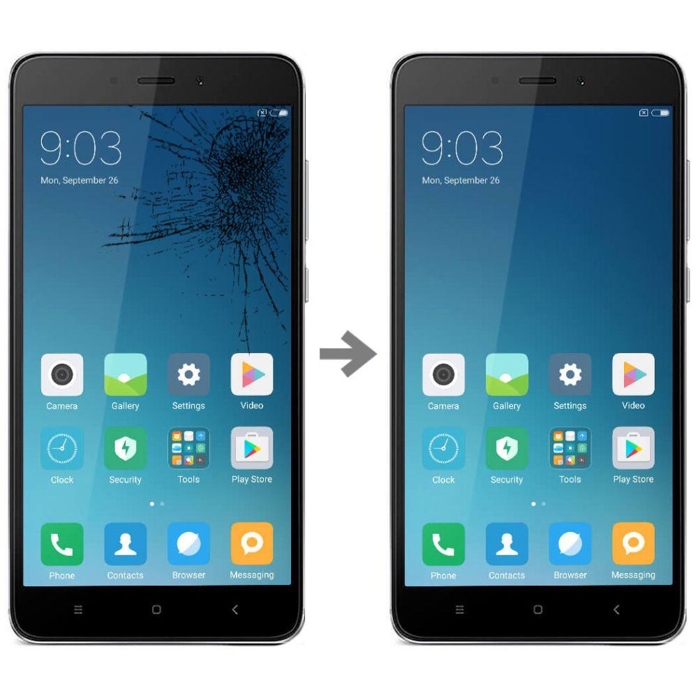 Wymiana szybki w Xiaomi Redmi 4