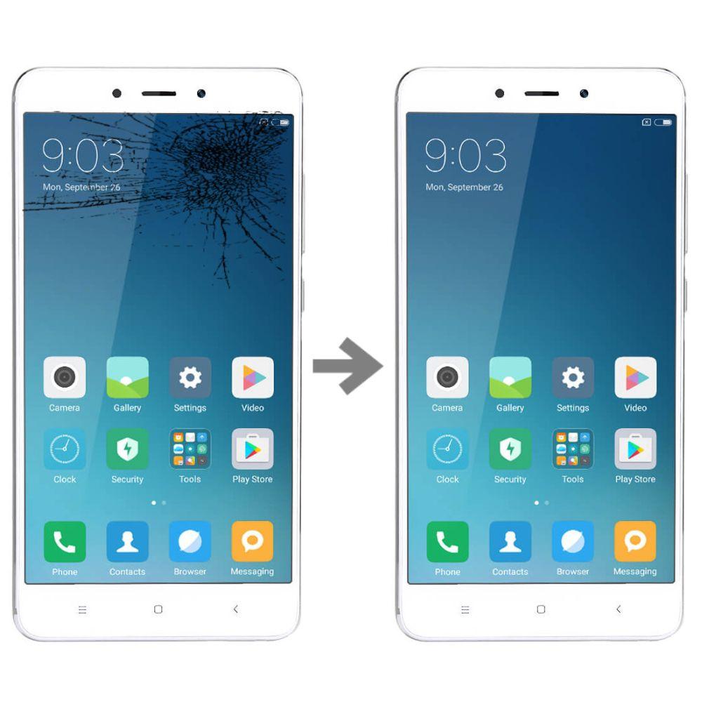 Wymiana szybki w Xiaomi Redmi 4 Pro