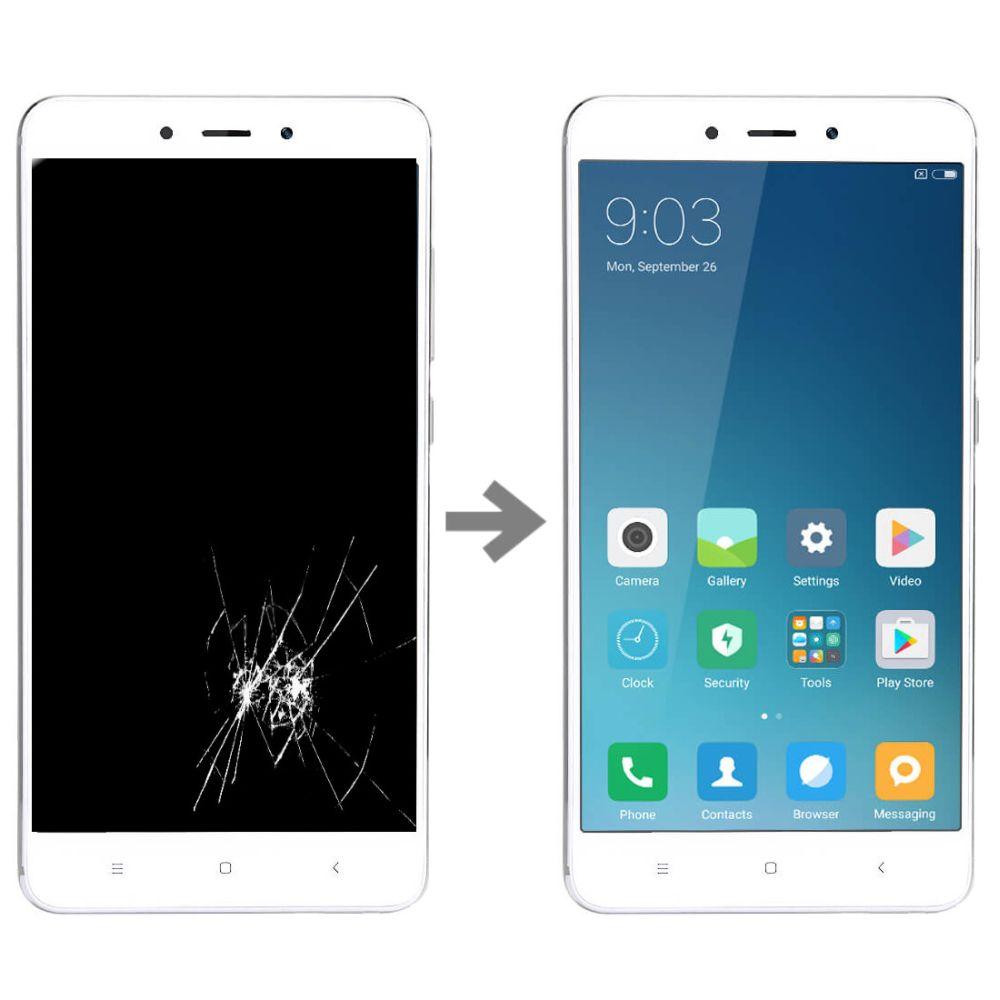 Wymiana wyświetlacza w Xiaomi Redmi 4 Pro
