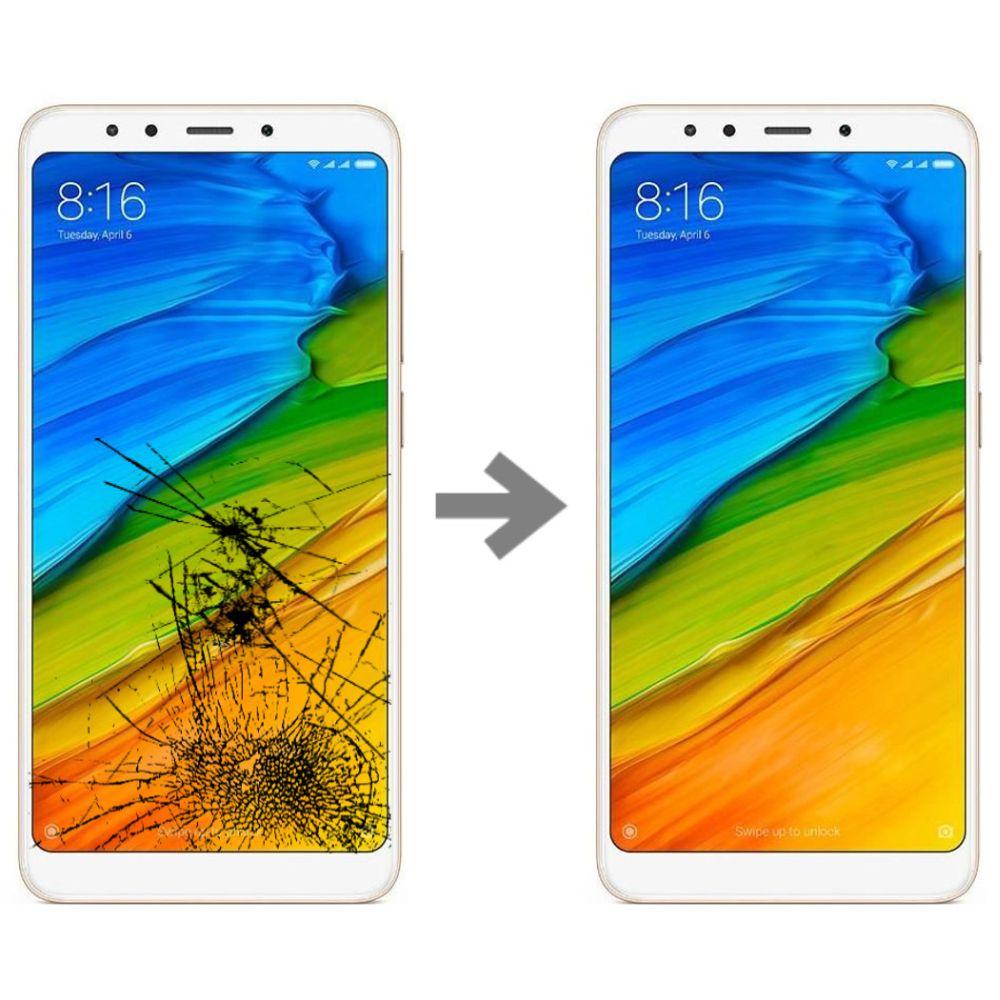 Wymiana szybki w Xiaomi Redmi 5