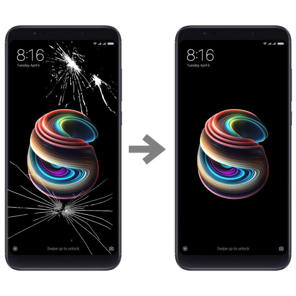 Wymiana szybki w Xiaomi Redmi 5 Plus
