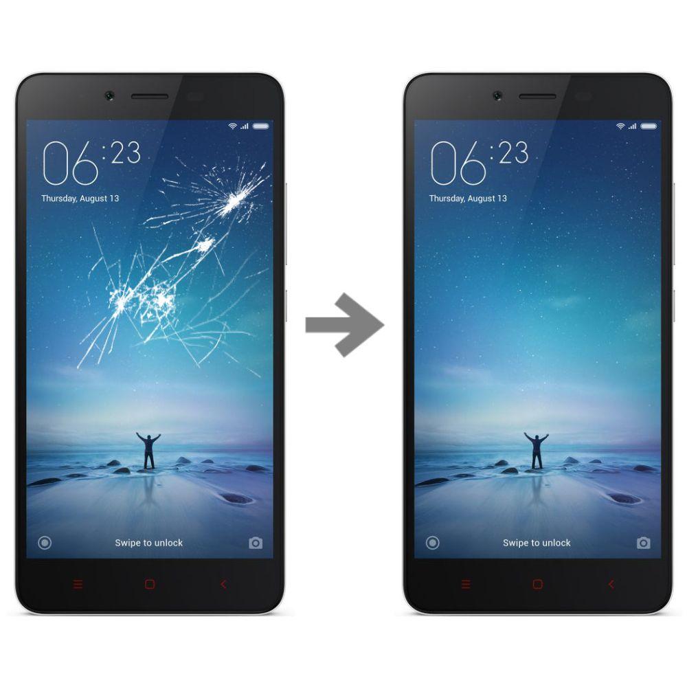 Wymiana szybki w Xiaomi Redmi Note 2