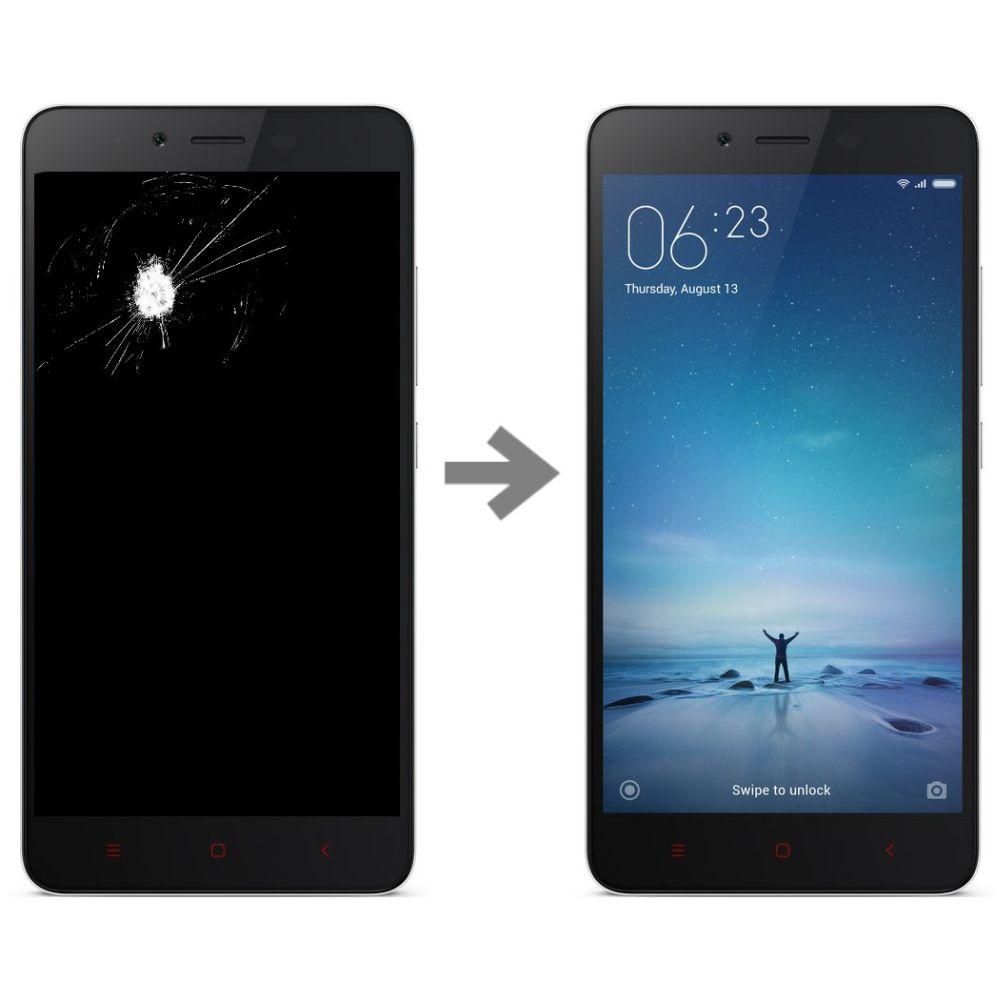 Wymiana wyświetlacza w Xiaomi Redmi Note 2