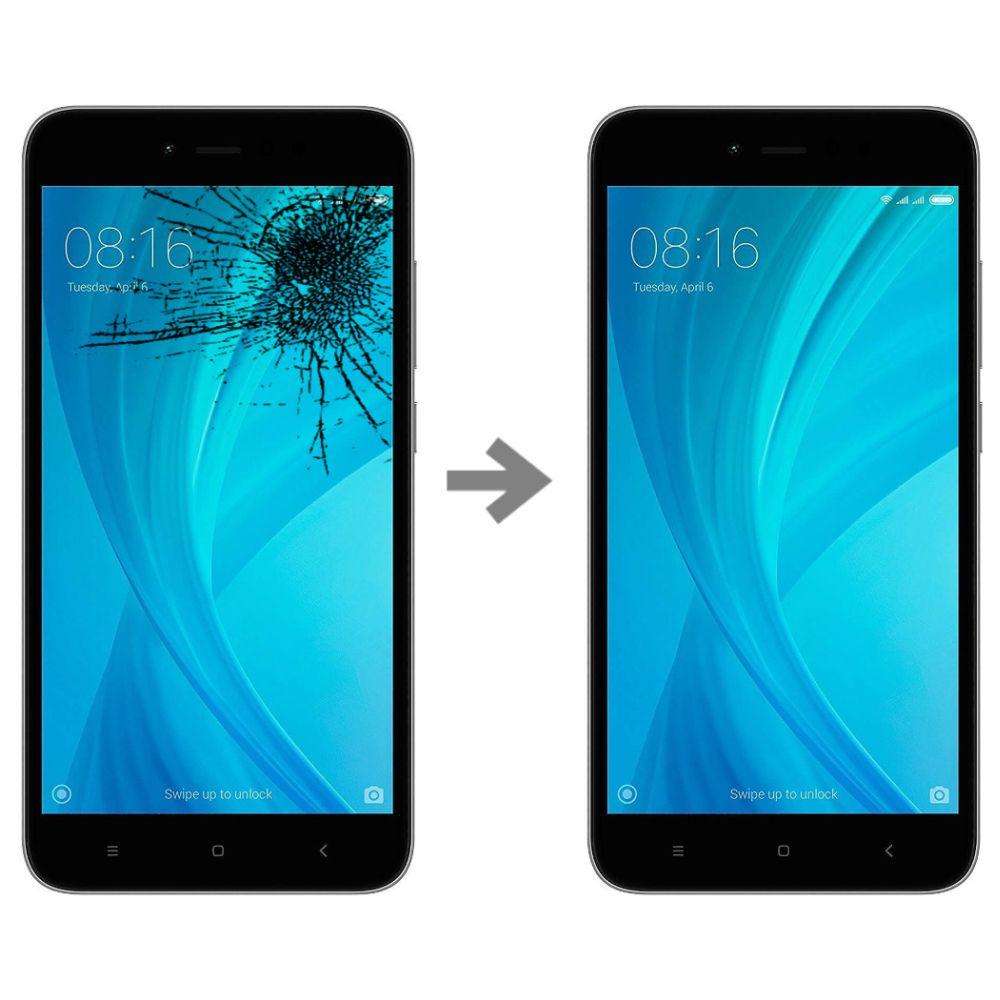 Wymiana szybki w Xiaomi Redmi Note 5A