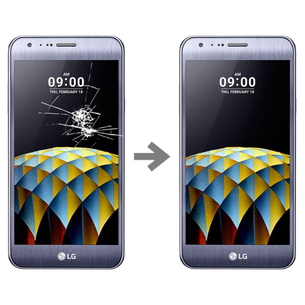 Wymiana szybki w LG X CAM (K580)