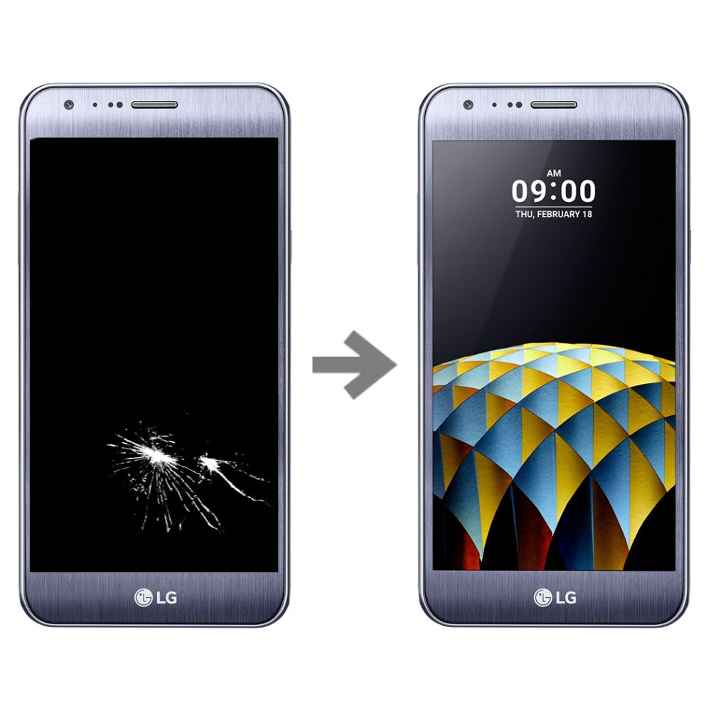 Wymiana wyświetlacza w LG X CAM (K580)