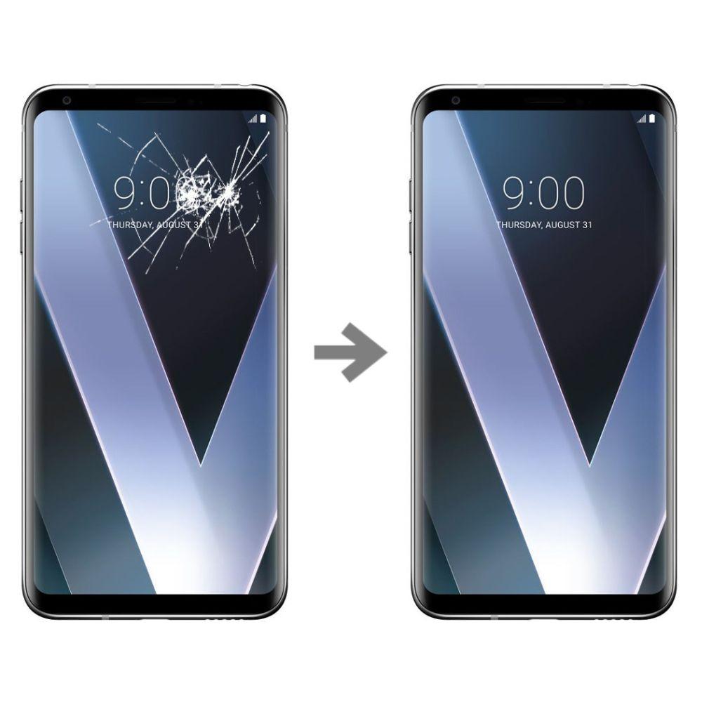 Wymiana szybki w LG V30 (H930)