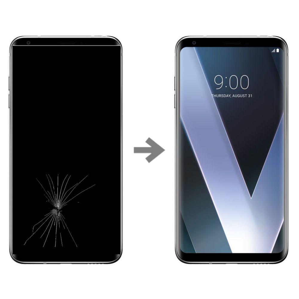 Wymiana wyświetlacza w LG V30 (H930)