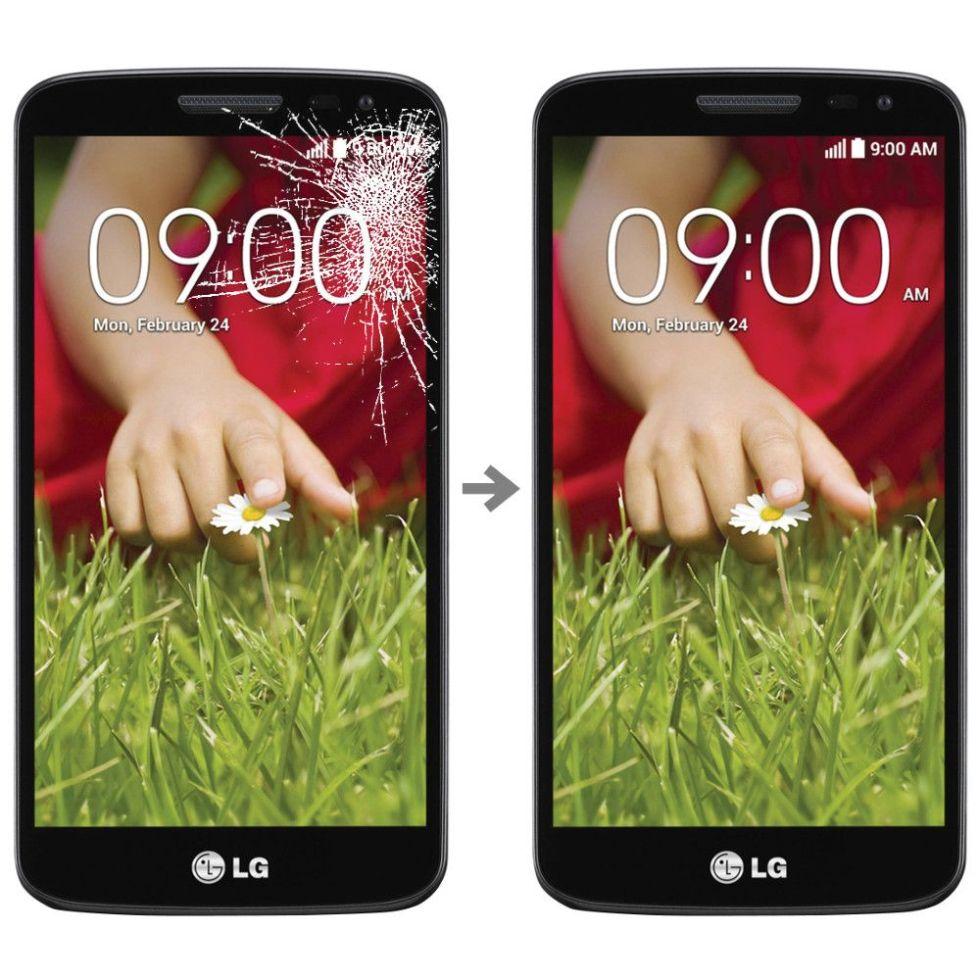 Wymiana szybki w LG G2 Mini (D620)